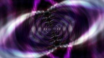 lazo rosa púrpura hipnótico psicodélico giratorio patrón de parpadeo video
