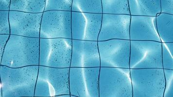 Clear Swimming Pool Water Surface video