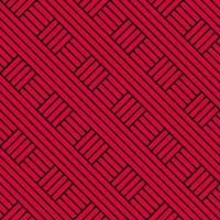 Ethnic Geometric Seamless Hand Drawn Pattern Modern Background vector