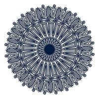 spriritual flourish vintage ornamental background design of mandala vector