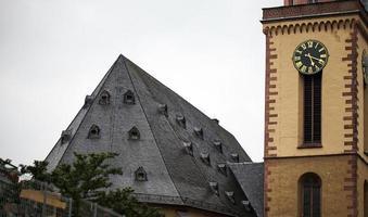 iglesia histórica del templo del cristianismo de la vendimia foto