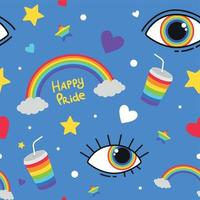 LGBT seamless pattern. vector