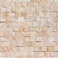 Textura de pared de piedra de azulejos blancos. foto