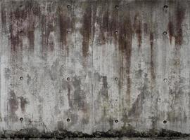 Textura de muro de hormigón desnudo gris transparente. foto