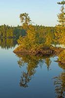 Morning Reflections on a Tiny Island photo