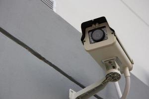 cámara de seguridad cctv foto