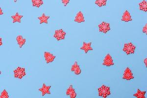 Christmas composition. Decoration elements photo