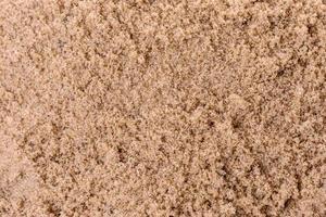 la textura rugosa de la arena foto