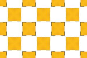 Pattern square yellow gradient for gift wrapping paper vector