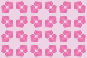Pattern square heart pink gradient vector illustration eps 10