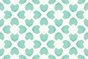 Abstract Pattern heart bright green gradient Vector illustration