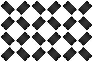 Abstract Pattern Rectangle Gradient Black Style Modern vector