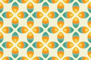 Abstract Pattern leaf Vector illustration eps 10