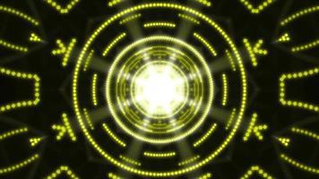 sfondo di caleidoscopi da discoteca video