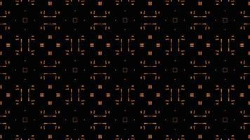 Symmetrical Patterns VJ Fractal Kaleidoscope Seamless Loop Animation video