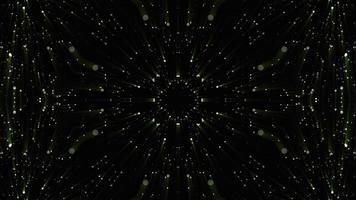 patrones simétricos vj animación de bucle sin interrupción caleidoscopio fractal video
