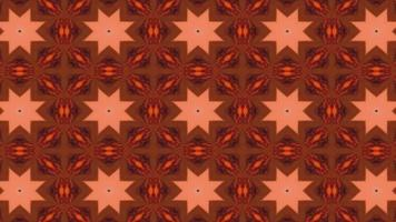 Beautiful Floral Kaleidoscope Background Effects video