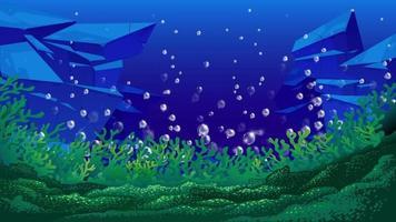 bubblor vinkar under havet video