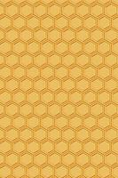 3D rendering Honey Drip and Honeycomb Background. photo