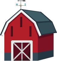 barn house vector