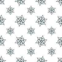 patrón de repetición sin costuras dibujado a mano, azulejos de patrón de repetición. vector
