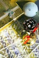 navidad, año nuevo, colorido, decoración, concepto foto