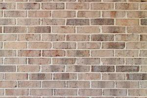 Cerró la textura de la pared de ladrillo gris. foto