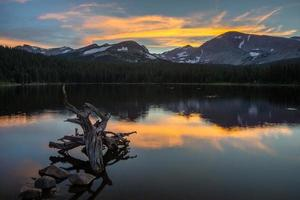 Brainard Lake Sunset photo