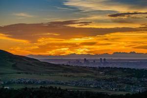 Sunrise - Denver, Colorado photo