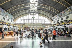 Bangkok, Thailand, 2021 - Bangkok Train Station photo