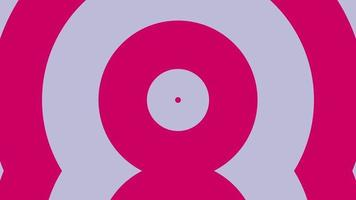 Pink circles free video clip 4k background animation