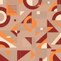 Geometric Vintage Background vector