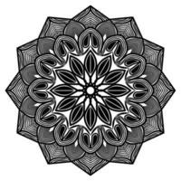 islamic and arabic style pattern design of mandala  graphic design vector