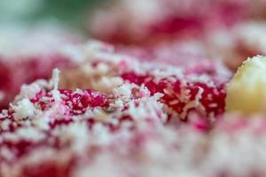 colorida cocina dulce de Malasia foto