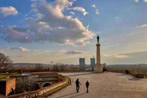 monumento de la fortaleza de belgrado foto