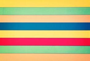 Colorful Wood Background photo