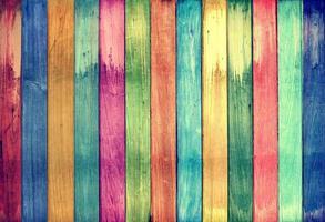 Vintage colorful wood background photo