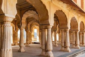 Amer Fort in Jaipur, Rajasthan, India. UNESCO world heritage. photo