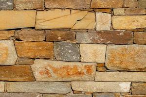 Texture of stone wall. photo