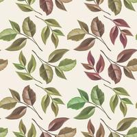 Beautifull Seamless Pattern Design with Floral Vector