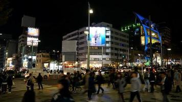 Timelapse Harajuku District in Tokyo, Japan video