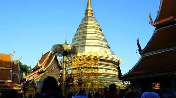 Wat Phra That Doi Suthep at Chiang Mai in Thailand video