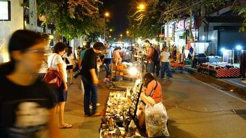 Time-Lapse of Thailand Market Street video