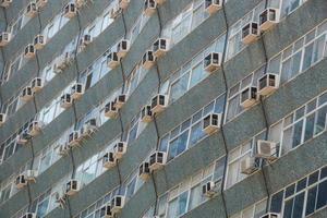 building facade in the center of Rio de Janeiro Brazil. photo