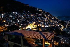 favela del cerro cantagalo en río de janeiro. foto