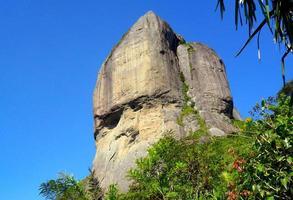 view of Gavea Stone in rio de janeiro brazil. photo