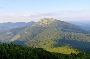 Mountains of Ukraine. Carpathians photo