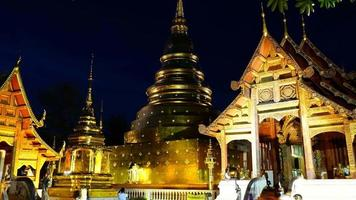 Timelapse Wat Phra Singh in Chiang Mai, Thailand video