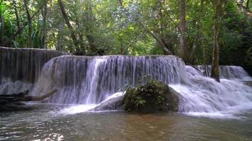 A Waterfall in Kanchanaburi Thailand video