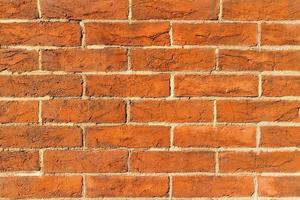 Antique brick wall texture background. photo